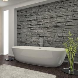 Stunning Leisteen Tegels Badkamer Contemporary - House Design Ideas ...