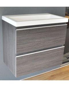 Sacha onderkast 60x36 houtnerf grijs
