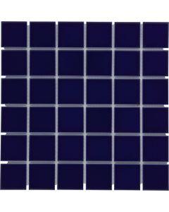 Mozaiek Barcelona Vierkant Donker Blauw 4,8x4,8