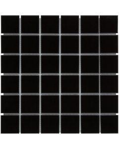 Mozaiek Barcelona Vierkant Zwart 4,8x4,8