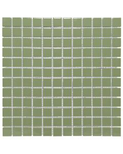 Mozaiek Barcelona Vierkant Olijf Groen 2,3x2,3