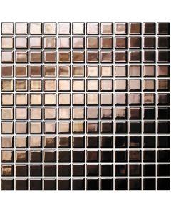 Mozaiek Barcelona Vierkant Rozé Goud 2,3x2,3