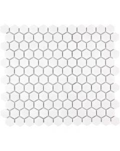 Mozaiek Barcelona Hexagon Extra Wit 2,3x2,6