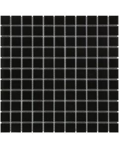 Mozaiek Barcelona Vierkant Zwart Mat 2,3x2,3
