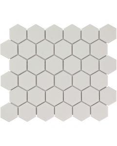Mozaiek Barcelona Hexagon Wit 5,1x5,9