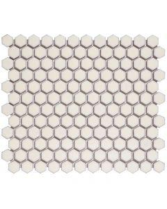 Mozaiek Barcelona Hexagon Wit 2,3x2,6