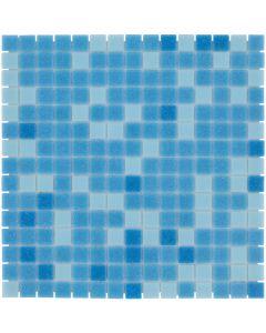 Mozaiek Amsterdam Vierkant Blauw Mix 2x2