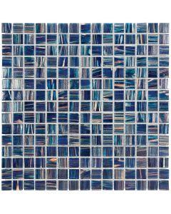 Mozaiek Amsterdam Vierkant Donkerblauw 2x2