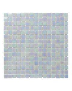 Mozaiek Amsterdam Vierkant Licht Blauw/Parel 2x2