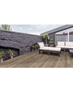 Terrastegel Woodbreak Ebony 30x120x2 rett