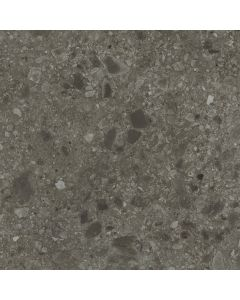 Vloertegel Terrazzo Hannover Black 80x80 rett