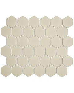 Mozaiek London Hexagon Wit 5,1x5,9