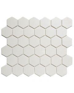 Mozaiek London Hexagon Super Wit 5,1x5,9