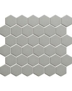 Mozaiek London Hexagon Donker Grijs 5,1x5,9