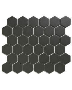 Mozaiek London Hexagon Zwart 5,1x5,9