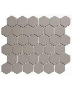 Mozaiek London Hexagon Grijs 5,1x5,9