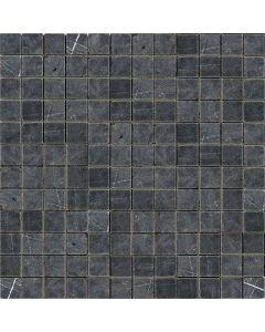 Mozaiek Nero Marquina marmer anticato 2,3x2,3x1