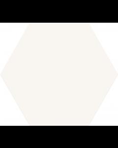 Hexagon Opal Blanco 28,5x33