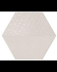Hexagon Opal Gris Decor 28,5x33