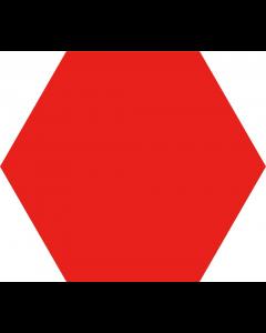 Hexagon Opal Rojo 28,5x33
