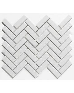 Mozaiek Paris Visgraat Extra Wit 2,3x7,3
