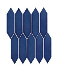 Mozaiek Paris Picket Blauw 4,8x19,5