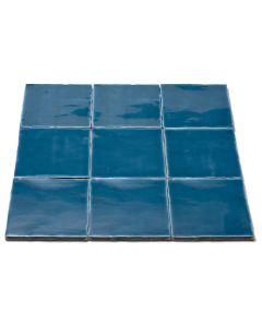 Oud Hollandse witjes Sea Blue 13x13