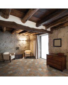 Terrazzo tegels Casale Graniglia cotto 25x25