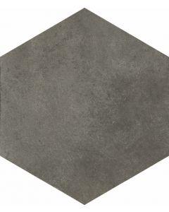 Vloertegels zeskant Timeless Anthracite 34,5x40