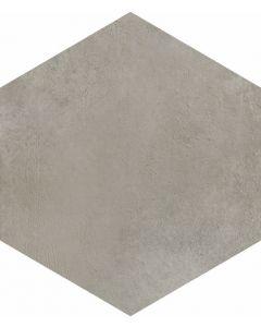 Vloertegels zeskant Timeless Silver 34,5x40